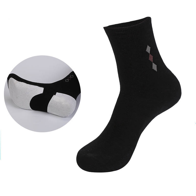 5 Pairs Best Quality Men Prevent Feet Crack Socks Autumn Winter Thicker Mens Long Tube Socks Sox Comfort Cotton Male Sock Meias