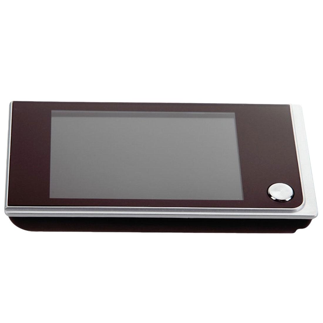 Mini caméra couleur extérieure 3.5 pouces numérique sonnette LCD couleur écran 120 degrés judas visionneuse porte oeil sonnette