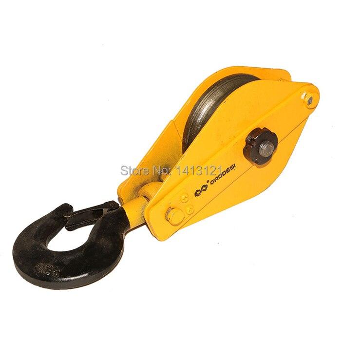 free shipping 0.5t  Lifting pulley lifting hook Lifting Tools electric hoist hook hardware rowenta cv 7670d0