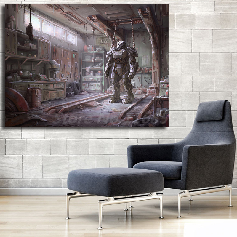 Fallout 4 Hd Wallpaper Wall Art Canvas Poster And Print Canvas
