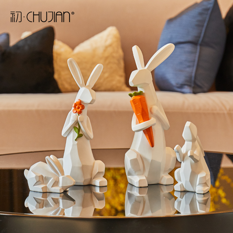 resin carrot rabbit statue home decor crafts room decoration objects parlor resin animal figurine Wine cabinet rabbit ornamentsresin carrot rabbit statue home decor crafts room decoration objects parlor resin animal figurine Wine cabinet rabbit ornaments