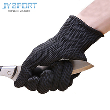 5 Level Strengthening Cut-resistant Full Finger Gloves Wear-resistant Stainless Steel Wire Hiking Camping Protective Gloves цена