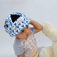 Capacete de segurança Para Crianças Babies Andando de Segurança Anti-colisão de Proteção Sem Bumps Ajustável Tampas Quentes Macio E Confortável BB0056
