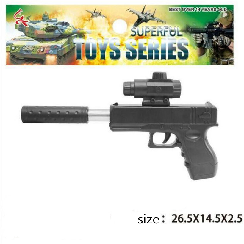 New Best Sell Manual Water Bombs Soft Bullet Airsoft Pistol