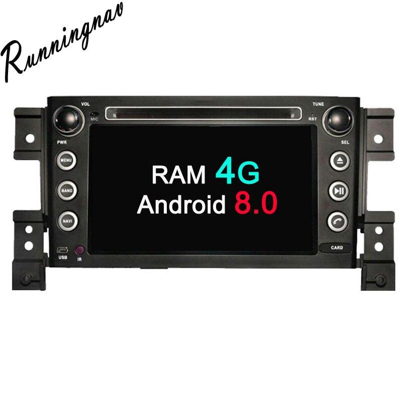Android 8.0 Octa Core PX5/PX3 Fit SUZUKI GRAND VITARA 2005 - 2012 2013 2014 2015 Car DVD Player Navigation GPS Radio