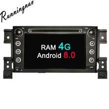 Android 8,0 Octa Core Оперативная память 4 г Android Fit SUZUKI GRAND VITARA 2005-2012 2013 2014 2015 автомобильный DVD плеер навигации gps радио
