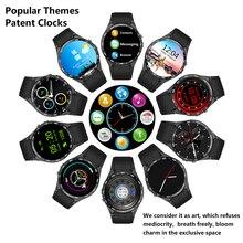 2016 neue Smarcent Universal KW88 3G WIFI GPS smart uhr Android 5.1 SOS MTK6580 CPU 1,39 zoll Bildschirm 2.0MP kamera smartwatch