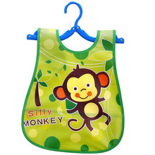 Cute Kid Infant Bibs Baby Soft Cartoon Bib Waterproof Saliva Dripping Bibs1.518(China)