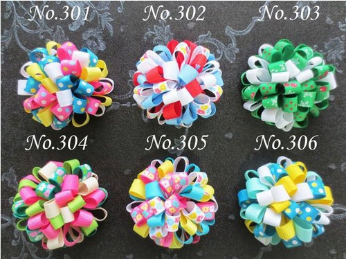 100 BLESSING Good Girl Loopy Puffs Ribbon 2.5 Hair Bow Alligator Clips 96 No. blessing and love big or retail a good gift for weddin new guaranteed 100