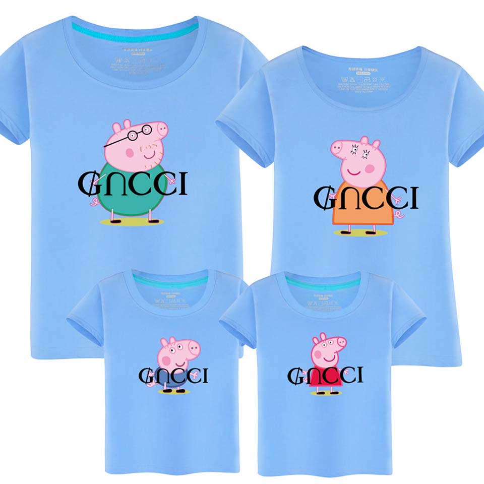 Matching Clothes Mom and Baby Dad and Son Matching Clothes Matching Family Shirts Cartoon Father Son Baby Clothes Plus Size ...