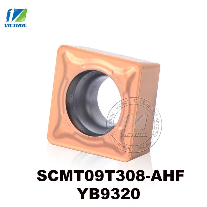 Esztergaszerszámok SCMT09T308-AHF YB9320 volfrám-keményfém - Szerszámgépek és tartozékok - Fénykép 1