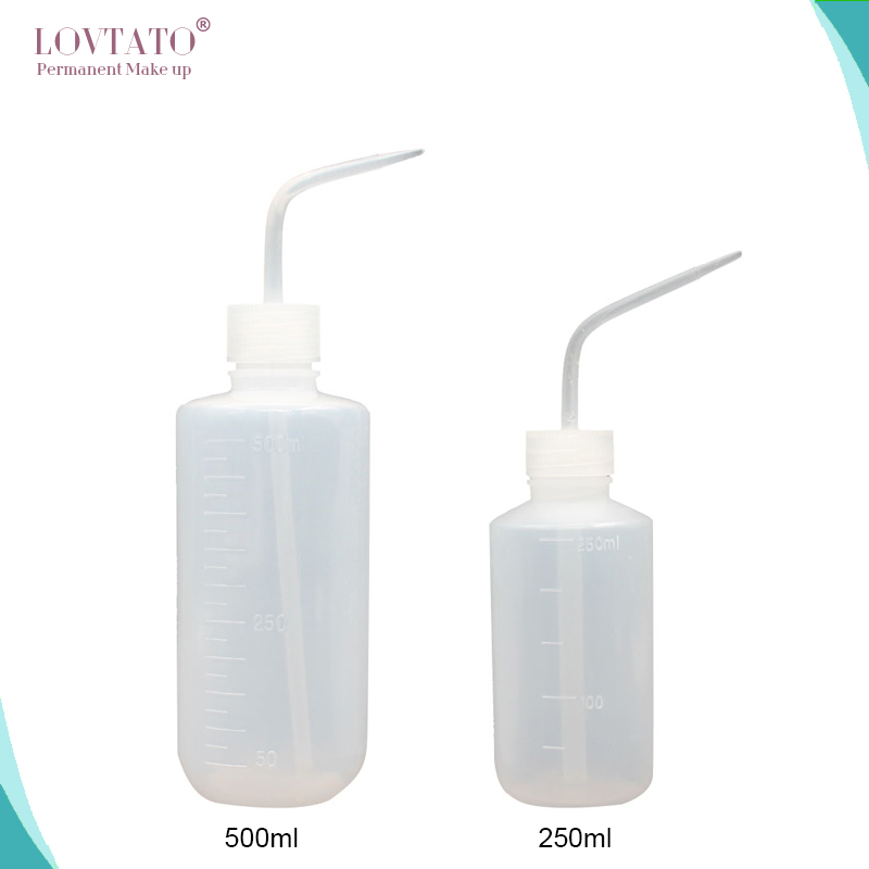 Tattoo Bottle Diffuser Squeeze Bottle Convenient Green Soap Supply Wash Squeeze Bottle Lab Non-Spray Microblading Tattoo Supplis