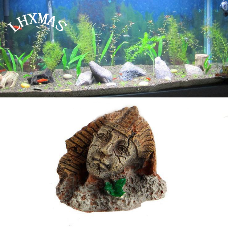 Alte Harz Aquarium Dekoration Stein Agypten Pharao Fisch Tank Landschaft Reptil Box Dekoration A104 Aquarium Decoration Resin Aquarium Decorationresin Aquarium Aliexpress