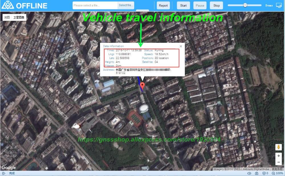 TOP GPS HUD C61