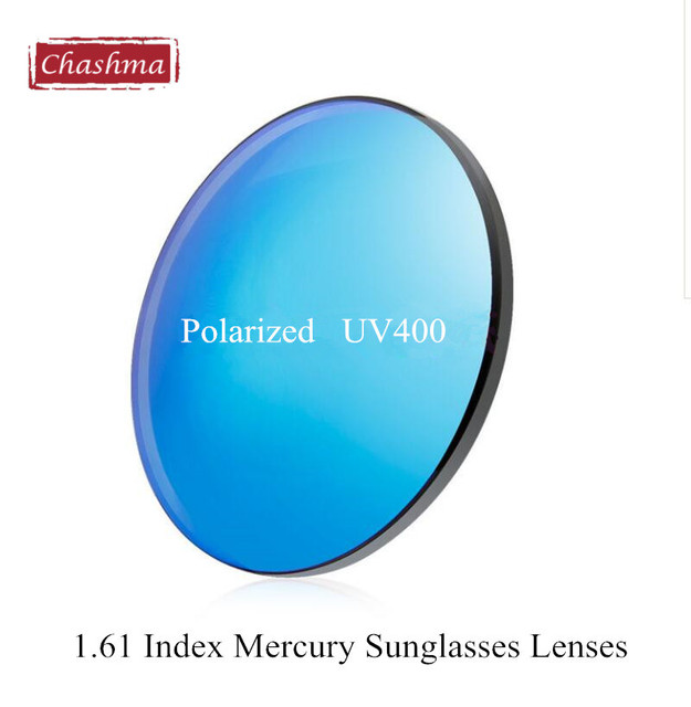 Chashma Brand 1.61 Polarized UV 400 Protection Colorful Sun Lenses Prescription Mercury Sunglasses Myopia Lenses