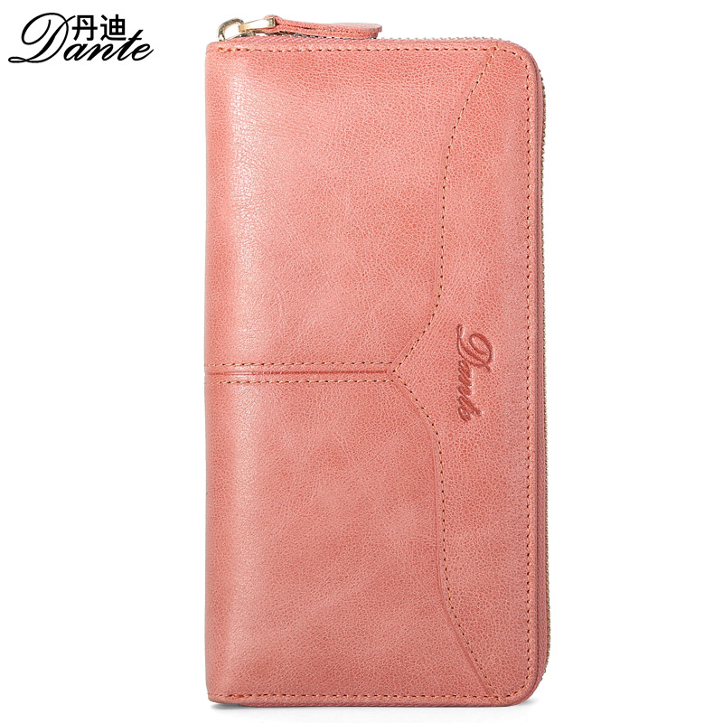 Luxury Brand Women Leather Wallets Fashion Genuine Cow Leather Long Clutch Bag Womens Wallets And Purses , Carteira Feminina women female bow famous brand designer hello kitty leather long wallets purses carteira feminina couro portefeuille femme 40