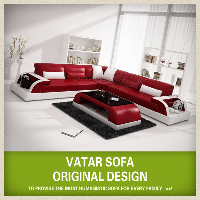 Vatar Sofa Original Design Cheap Black And White Corner Intex Living Room Furniture Pictures French Style Antique