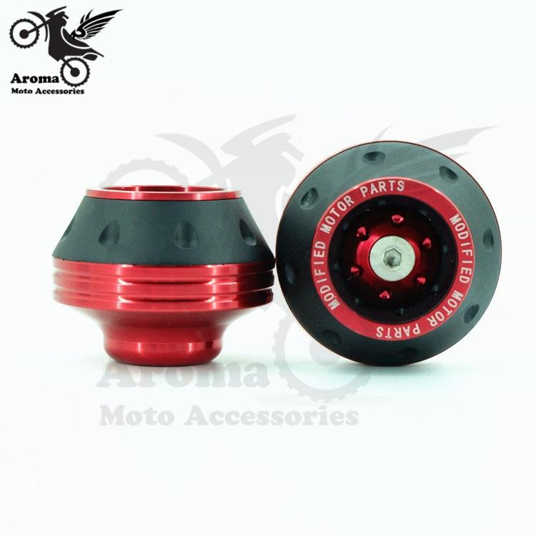 Moto Caída CNC piezas de aluminio unviersal racing Frente Tenedor - Accesorios y repuestos para motocicletas - foto 5