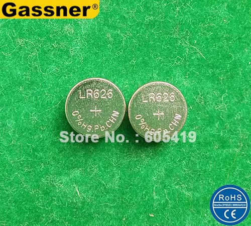 00e01ed6ae 10000pcs/Lot LR626 AG4 377 SR626 377A 0% Hg Pb Mercury free 1.5 V Alkaline  button cell batteries for watches free shipping