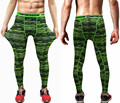 Mens Compression Pants 2017 New Brand Fashion Crossfit Tights Men Bodybuilding Pants Trousers Camouflage Joggers Free Shipping