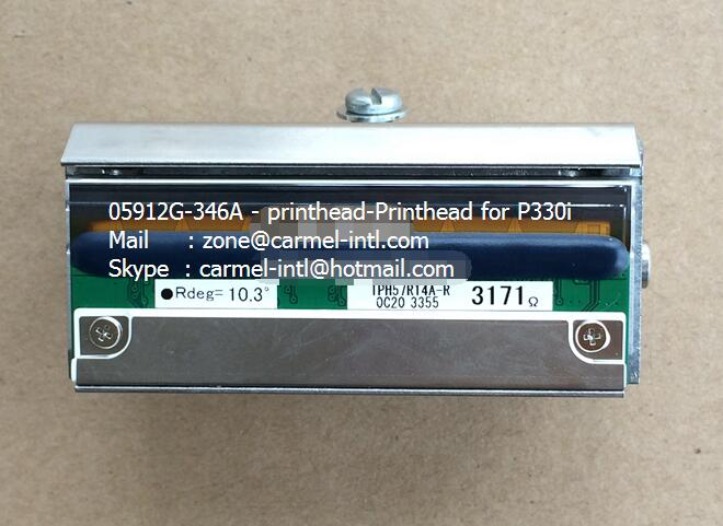 Thermal Printhead Zebra P330i P430i  P330m 105912G-346A  Zebra Print Head Plastic ID Card Printer Print Head  with Metal Case