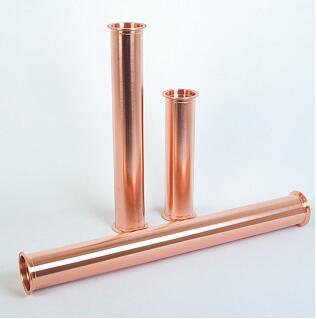 Free Shipping Copper 2 51mm OD64 Sanitary Tri Clover Spool Tube Pipe Length 20 500mm Tri