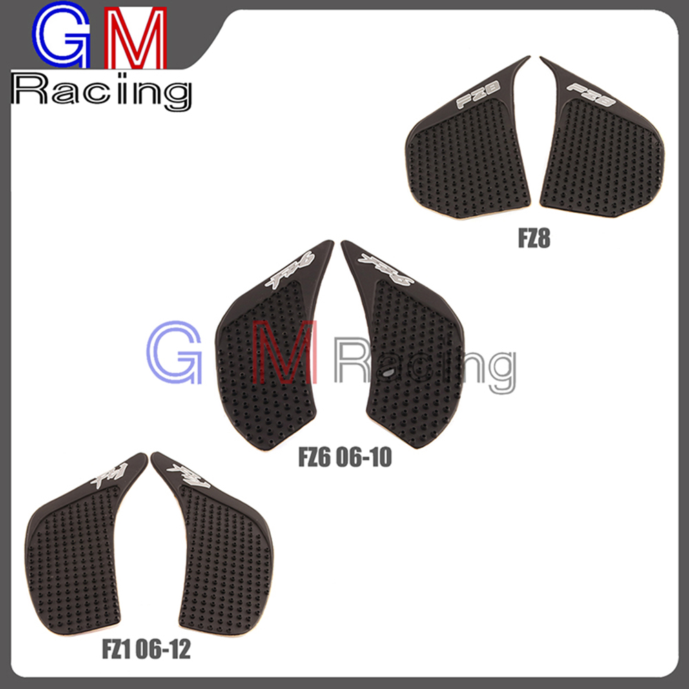 Decals & Stickers Provided 2 Pcs Motorcycle Anti-slip Gas Tank Traction Pad Knee Grip Sticker For Yamaha Fz1 Fz1n Fz1s