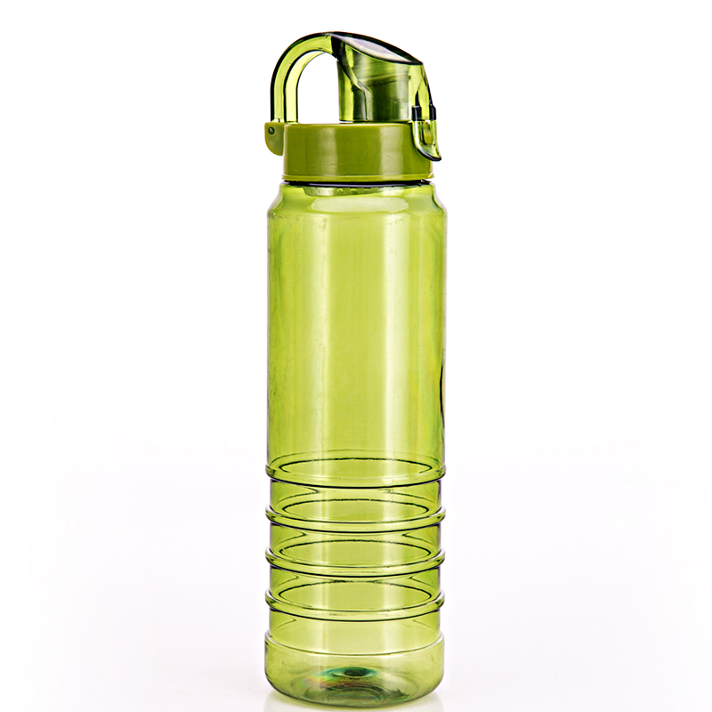 My Bottle 800ml With Gift Bag Plastic Water Bottle Sport Lemon Juice Circle Clear Bottle Unbreakable