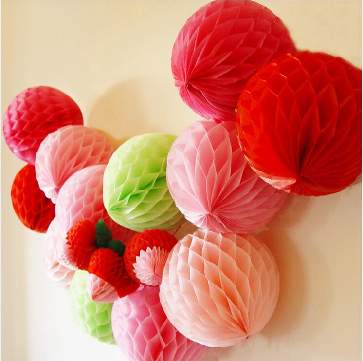 8 20cm chinese tissue paper honeycomb balls paper flowers lanterns 8 20cm chinese tissue paper honeycomb balls paper flowers lanterns party wedding decorations table garland 10pcs in lanterns from home garden on mightylinksfo