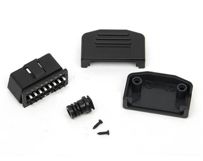 50pcs lot automotive male connector obd2. Black Bedroom Furniture Sets. Home Design Ideas