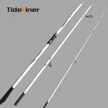 Caña de pescar para surfear de 4,2 m, caña de pescar giratoria de fundición a distancia, caña de pescar para lanzar surfcasting, caña de pescar de fibra de carbono con peso de 80-200g