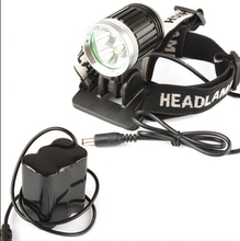 SecurityIng 1800Lm Bike Headlight 3x XM-L T6 LED Headlamp Bicycle Light + 6600mAh Battery Pack