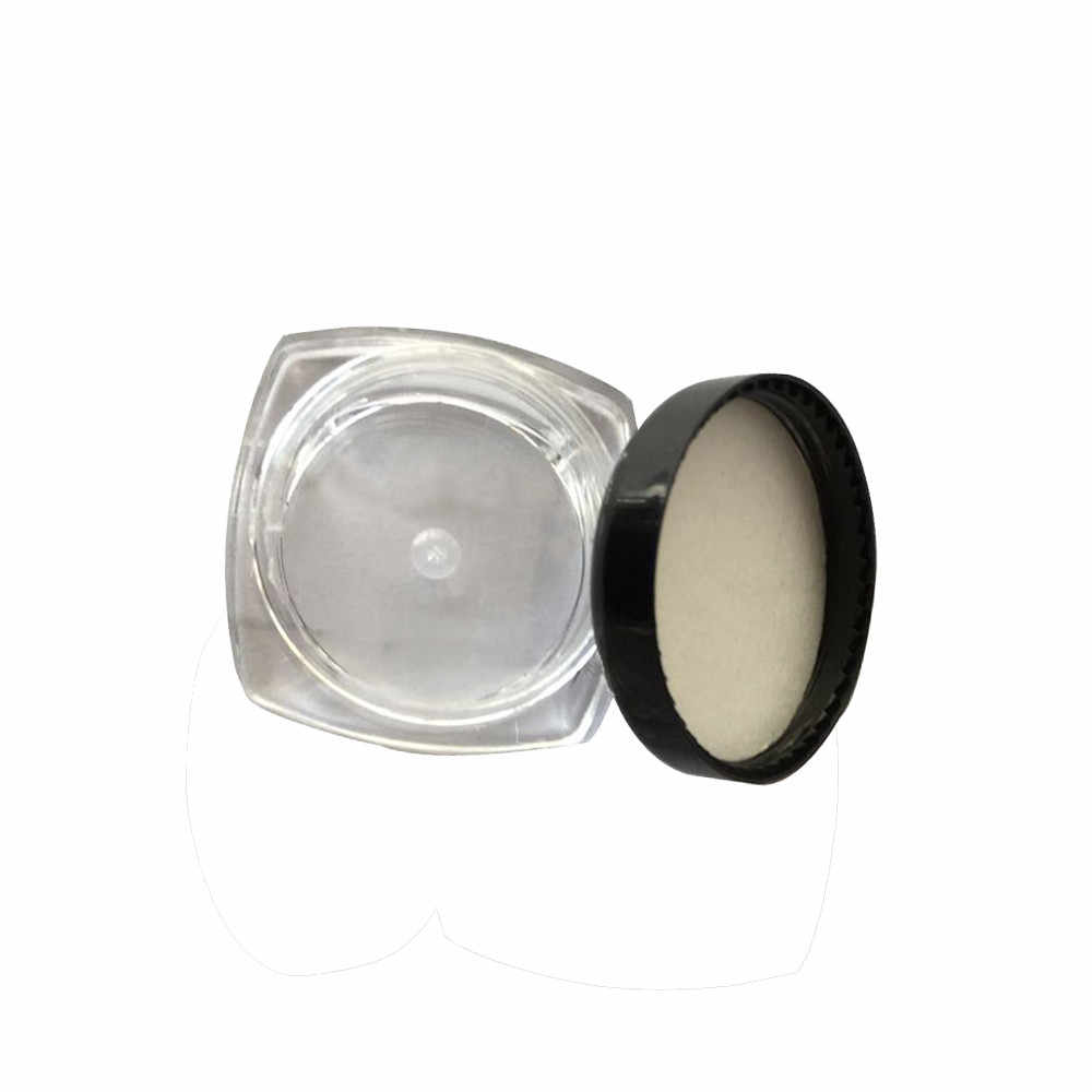 50Pcs Clear Cosmetic Sample Empty Container boxes Jar Pot Eyeshadow Makeup Cream Lip Empty Cosmetic Screw Top Sample Containers