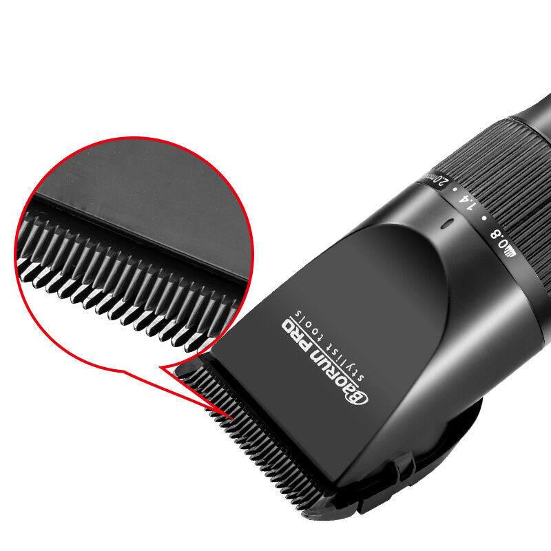 Image 3 - Super Quiet Professional Rechargeable Hair Trimmer Styling Tools Sets Hair Clippers Hair Cutting Machine 2000mA Lithium Battery-in Hair Trimmers from Home Appliances