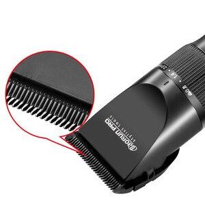 Image 2 - Super cichy profesjonalny akumulator trymer do stylizacji włosów zestawy narzędzi spinki do włosów ścinanie włosów maszyna 2000mA bateria litowa