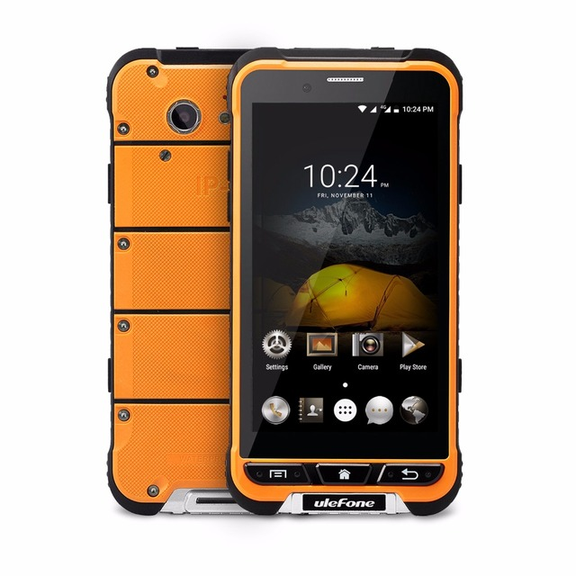 Предпродажная Ulefone Броня Android 6.0 4 Г LTE Телефон MTK6753 Octa Ядро 3 Г RAM 32 Г ROM 13.0MP IP68 Противоударный водонепроницаемый Смартфон
