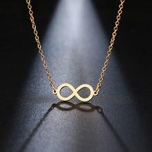 Ожерелье из нержавеющей стали dotifi модное женское ожерелье