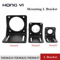 NEMA 23 Mounting L Bracket stepper motor NEMA 23 NEMA 34 NEMA 17 Mount for 42/57/86 Motor