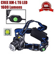 AloneFire HP88 CREE XM-L T6 LED 2000Lumens Outdoor bicycle ZOOM Rechargeable Headlight LED Headlamp cree For 1/2x 18650 Battery