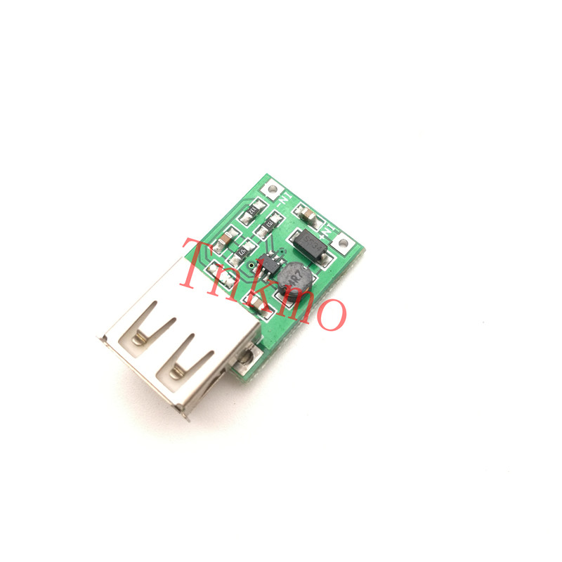 5Pcs 0.9V-5V 600MA USB Output Boost Converter Mini DC-DC Step-up Power Module Lithium Battery Charger Board for High Efficiency! bonatech ultra small mobile power board 3a high efficiency boost module with battery indicator