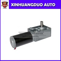 Free shipping 12V/14rpm High torque dc electric worm gear motor with gearbox, gear reducer