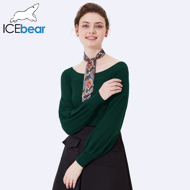ICEbear 2017 New Arrival Woman Winter Sweater Casual Women Sweaters Long Sleeve O-Neck Sweaters Female Casual Pullovers SZ0703D