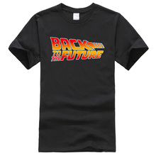 Back To The Future Movies T-shirt Men 2019 Casual Brand Clot