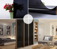 0 Window Tints Light Transmittance Balck Durable Glass Window Tint Tinting Film 12 X 6 6ft