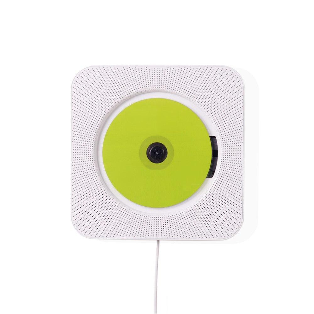 TRANSCTEGO lecteur CD Bluetooth ménage suspendus boîte prénatale formation lecteurs CD maison FM avec haut-parleur Radio AUX3.5mm sortie