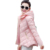 Hot New 2016 Mulheres Jaqueta Moda Inverno Zipper Curto Algodão-Acolchoado Casaco Com Capuz Casuais Fino Plus Size Para Baixo Casaco ST253