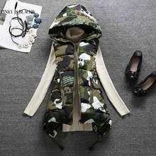PinkyIsBlack 2019 New Winter Vest women Casual Autumn Winter Sleeveless Waistcoat Hooded Long Warm Cotton Padded Top Vest Jacket