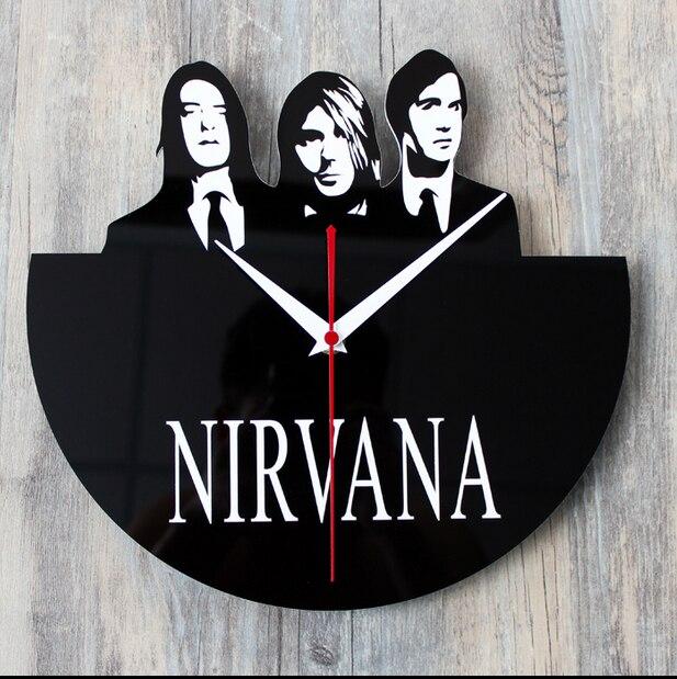 021275 Creative CD vinyl wall clock home decoration mute bracket clock restoring ancient ways