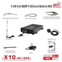 4 pin aviation connector mini cms bus dvr surveillance, x10s-4G kit (X10S-4G dvr+4 AHD camera + 5M extension cable)