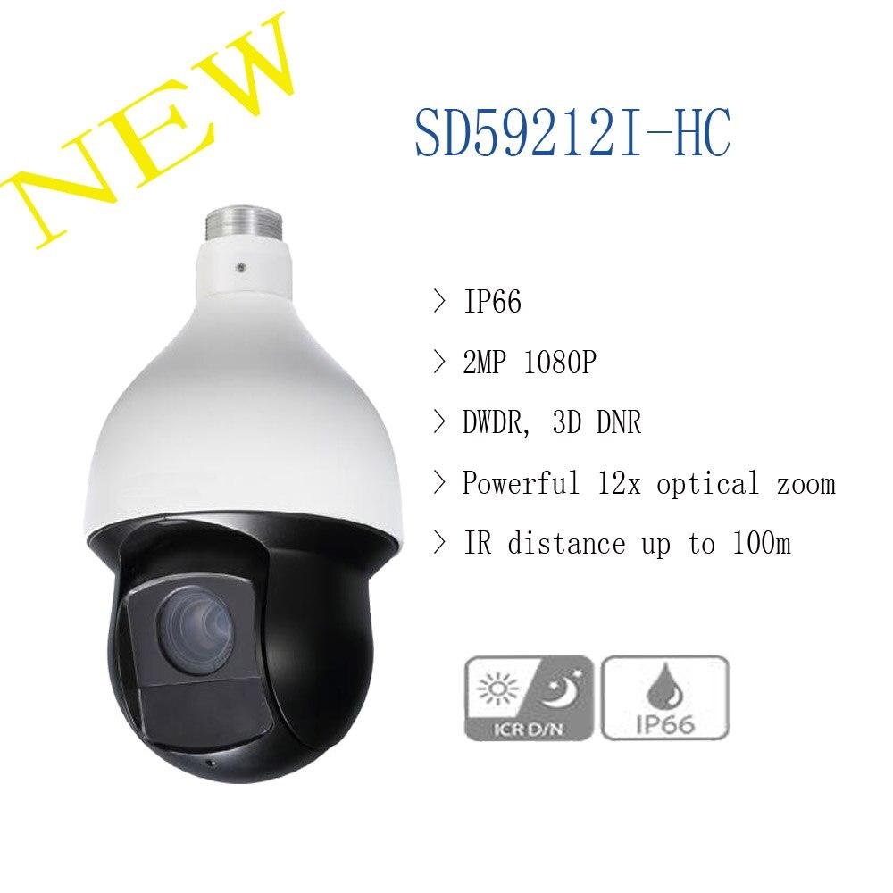 DAHUA CCTV Security Camera 2MP Ultra high Speed PTZ IR HDCVI Dome Camera IP66 Original English